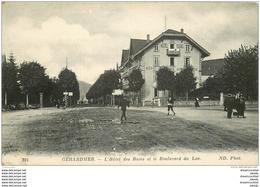 WW 88 GERARDMER. Hôtel Des Bains Boulevard Du Lac - Gerardmer