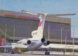 AEROPORTO-AEROPORT-AIRPORT-FLUGHAFEN-CHEREMETIEVO 2-MOSCA--VERA FOTOGRAFIA VIAGGIATA - Aerodromes