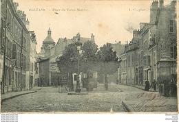 WW 2 Cpa 45 ORLEANS. Place Du Vieux Marché Et Première Visite Au Chantiers Exposition De 1905 - Orleans