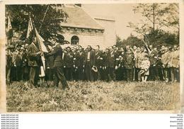 Photo Cpsm 77 MITRY MORY. Remise Du Fanion Au Président De La 67° Section Par Le Colonel De La Rocque - Mitry Mory