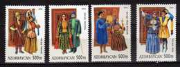 Azerbaijan 2004 Traditional Costumes - Carpets And 19th-century Costume.Art/Textiles/Carpets/Costumes.MNH - Azerbaïdjan