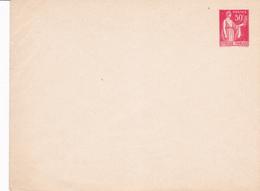 Enveloppe Paix 50 C Rouge B2 Neuve - Postal Stamped Stationery