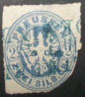 N°32 BRIEFMARKE ALTDEUTSCHLAND PREUSSEN GESTEMPELT - Preussen