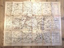 Ancienne Carte MAGASINS FELIX POTIN / Environs De Paris - Recto / Verso - Mappe
