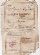 Mirande (32 Gers) Certificat De Bonne Conduite D'un Militaire Du 88e R.I. 190...(PPP21370) - Documents