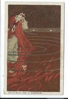 Illustration Art Nouveau Signée Franz Hein - Illustrateurs & Photographes