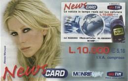 *ITALIA : TIM - NEWS CARD* - Carta Servizi NUOVA (MINT) In Blister - Italia