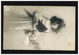 Schweiz Foto-Ansichtskarte Kinder Mädchen Mit Blumenstrauß, ZÜRICH 11.3.1910 - Sin Clasificación