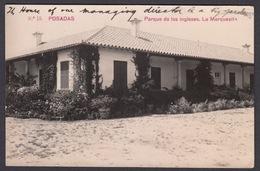 CPA - Espana / Spain  -  POSADAS, Parque De Los Ingleses, La Marquesita -   Foto, 1914 - Córdoba