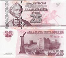 Transnistria 2007 - 25 Rublei - Pick 45 UNC - Bankbiljetten