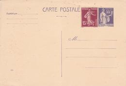 Enveloppe Paix 55 C Violet C1 Neuve - Postal Stamped Stationery