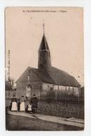 - CPA VILLERS-EN-OUCHE (61) - L'Eglise 1918 (avec Personnages) - - Autres Communes