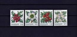 Dänemark 2008 - Michel 1511-1514 MNH - Pflanzen Und Botanik