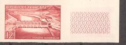 Donzère-Mondragon De 1955 YT 1078 Essai De Couleur Sans Trace De Charnière - France
