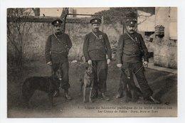 - CPA ASNIÈRES (92) - Ligue De Sécurité Publique De La Ville - Les Chiens De Police - Edition Berthaud N° 1 - - Asnieres Sur Seine
