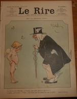 Le Rire. N°12. 25 Avril 1903. Dessinateurs: Benjamin Rabier, Gerbault, Guydo, Radiguet, Riezer, Huard, Barget, A. Jack. - 1900 - 1949