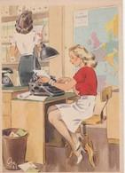 CPSM  - N°650 - FRAUEN SCHAFFEN FÜR EUCH  - 092 - Guerre 1939-45