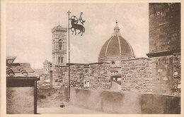 (C).Firenze.Palagio Dell'Arte Della Lana.Il Duomo Veduto Dal Terrazzo (c20) - Firenze