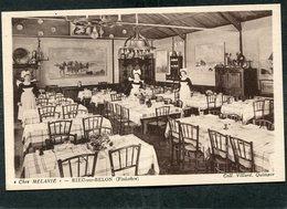 """CPA - RIEC SUR BELON - """"Chez MELANIE"""" - La Salle De Restaurant, Animé - Autres Communes"""