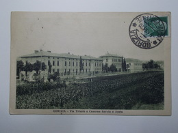 Carte Postale - ITALIE - Gorizia - Via Trieste E Caserme Savoia E Aosta (3893) - Gorizia