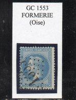 Oise - N° 29A Obl GC 1553 Formerie - 1863-1870 Napoléon III Lauré
