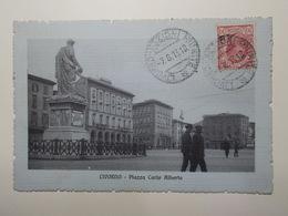Carte Postale - ITALIE - Livorno - Piazza Carlo Alberto (3897) - Livorno