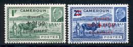 Cameroun 1944 Yvert 263 / 264 ** TB - Cameroun (1915-1959)