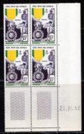 Cote Des Somalis 1952 Yvert 284 ** TB Coin Date - Ungebraucht