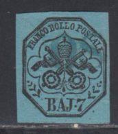 Etats Pontificaux 1852 Yvert 8 (o) B Oblitere(s) - Kirchenstaaten