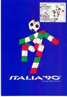 ITALIA 90 CAMPIONATO DEL MONDO  1988 MAXIMUM POST CARD (GENN200502) - 1990 – Italië