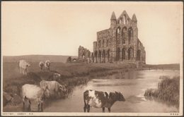 South East, Abbey, Whitby, Yorkshire, C.1920s - Photochrom Postcard - Whitby