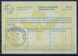 MADAGASCAR / COMORES La30 10.98 International Reply Coupon Reponse IRC IAS Antwortschein O MORONI R.P. COMORES 16.02.99 - Komoren (1975-...)
