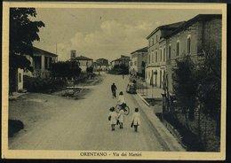 RB683 ORENTANO - VIA DEI MARTIRI - Other Cities