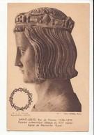 CPA Histoire - Saint Louis, Roi De France 1226 1270 - Eglise De Maineville (Eure )  -  Achat Immédiat - (cd020 ) - Geschiedenis