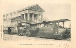 SAINT GERMAIN EN LAYE - L'arrivée Du Tramway. - St. Germain En Laye