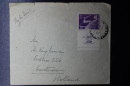 ISRAEL Cover 1950  Philex Nr 28 UPU   Tel Aviv -> Amsterdam - Israël