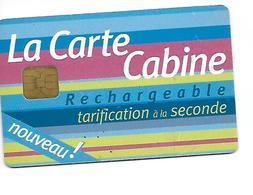 FRANCE  La Carte Cabine - Zonder Classificatie