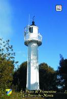 Set 6 Cartes Postales, Phares, Lighthouses Of Europe, France, La Barre-de-Monts, Le Phare De Fromentine - Leuchttürme