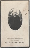 Denderleeuw, 1941, Frans Coppens, Timmerman - Andachtsbilder