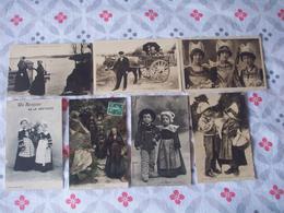 COSTUME  FOLKLORIQUE      LOT DE 56 CARTES DIVERS - Cartoline