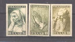 Sarre  :  Yv  347-49  ** - 1947-56 Gealieerde Bezetting