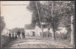 CPA 80 - CONDE FOLIE, Route D'Hangest - France