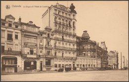 La Digue Et L'Hôtel De Londres, Ostende, C.1920s - Thill CPA - Oostende