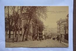 BAYONNE-le Chateau Vieux Et Rue Thiers-offerte Par Chocolat Vinay-papier Glace - Bayonne