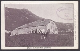 CPA  Suisse, Chalet De TREMETTAZ, 1913 - FR Fribourg