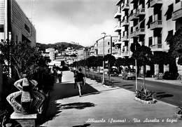 Italia Italy  Savona Albissola Via Aurelia E Bagni  Foto Photo Card Vera Fotografia   Barry 4820 - Savona