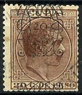 Cuba Española Nº 82 Usado. Cat.85€ - Cuba (1874-1898)