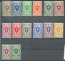 CAM 442 - YT  249 à 262 ** - Cameroun (1915-1959)