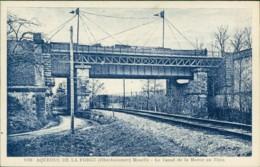 AK Aqueduc De La Forge (Oberhammer) Moselle - Le Canal De La Marne Au Rhin (32249) - Francia