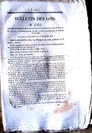 DAGUERROTYPE CURIEUX AVIS DE BREVET POUR UN APPAREIL DAGUERROTYPE DEPOSE PAR A BARBIER EN 1846 - Autres